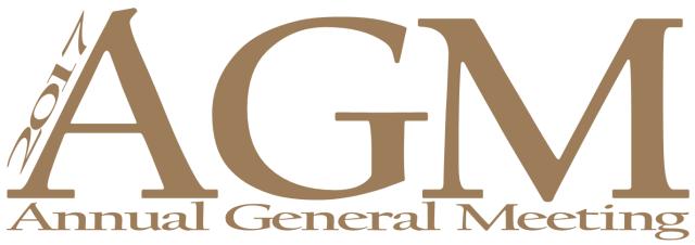 2017 AGM